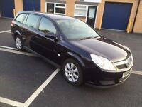 2006 VAUXHALL VECTRA ESTATE 1.9 cdti With towbar 3 months warranty