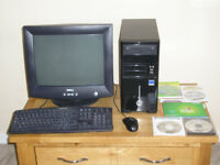 Desktop PC and Windows XP software