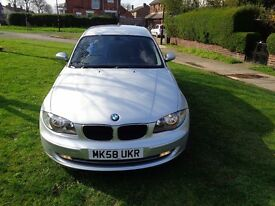 "2009 BMW 1 Series 1.6 116i ES 3dr [START/STOP+17"" ALLOYS+NEW MOT+FSH]"