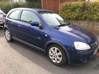 Vauxhall Corsa 1.2 2004 Blue LOW MILEAGE £849 ONO