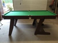 Snooker Table folding 6ft x 3ft snooker table