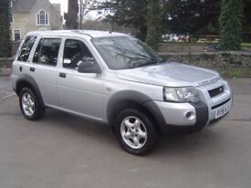 Land Rover Freelander TD4 2006 very low milege, Automatic