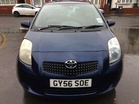 Toyota Yaris 1.3 VVT-I T3 3Dr Petrol, Hpi clear and Long Mot