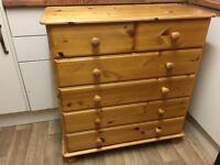 2 over 4 chest of drawers plus FREE local Plymouth delivery @ full price £100