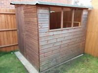 Garden shed 1.8 m x 2 m