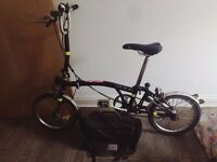 Brompton H3L folding bicycle - Very Good condition