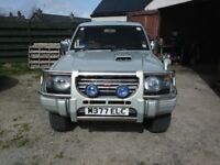 mitsubishi pagero 2.8 td for spares or repair