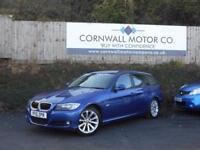 BMW 3 SERIES 2.0 318D SE TOURING 5d 141 BHP NEW MOT AND SERVICE (blue) 2010