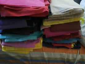 Fabric cut offs 10 kg