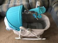 Kinderkraft Unimo 5 in 1 cradle rocker Napper birth to toddler chair