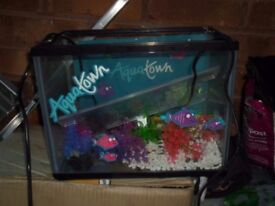 FISH TANK WITH PUMP- VERY GOOD CONDITION