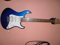 For sale Yamaha Pcifica Pac 012 electric guitar metalic blue buyer collects.