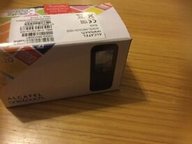 ALCATEL one touch mobile new SIM card too boxed