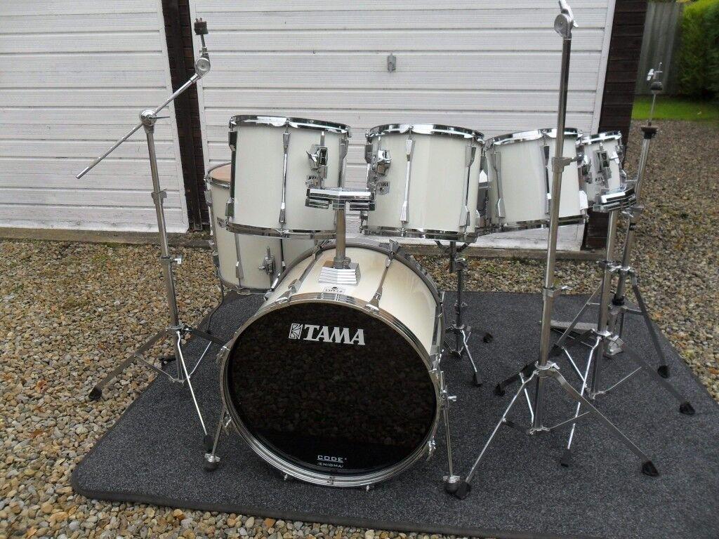 Vintage Tama Rockstar DX - 7 drum kit - Made in Japan 9 ply shells