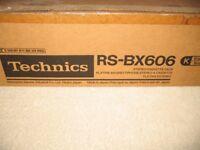 Technics cassette deck RSBX606