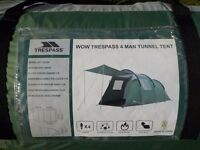 4 man Tent For Sale