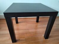 Ikea coffee table and stools