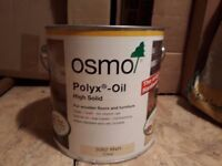 Oil for Hard/softwood - Polyx Oil unopened 2.L tin