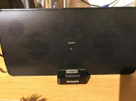 Philips Bluetooth iPod iPhone aux Wireless Speaker