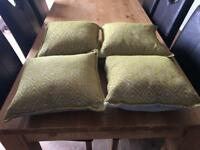 4 brand new cushions