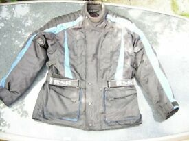 Motorcycle Winter Jacket Size XL Weather resistant
