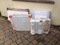selection of new radiators.