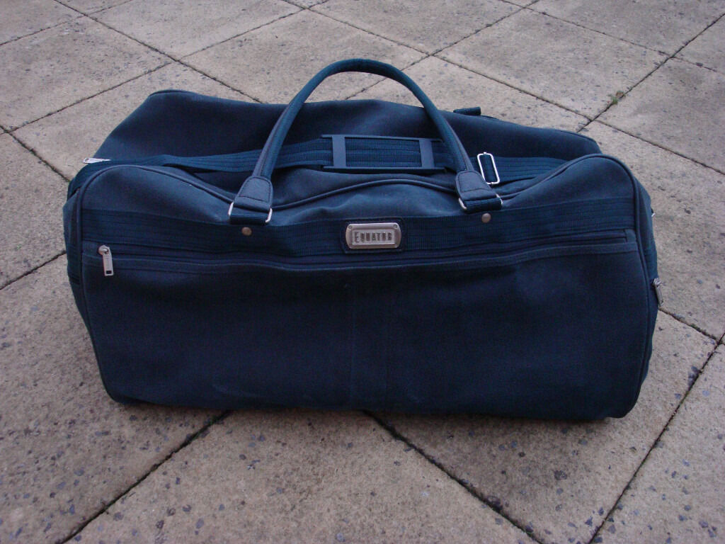 Large Equator Holdall And Matching Vanity Case Bag In