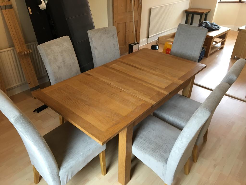 6 to 4 seater extending dining room table and chairs6 to 4 seater extending dining room table and chairs   in  . Old Dining Chairs Leicester. Home Design Ideas