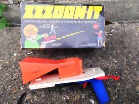 Rare Vintage 1970's Mattel ZZZOOM-IT Toy