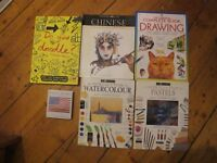 Art books. Great ref for artists and students. Fantastic condition.