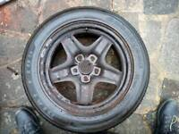 "VAUXHALL INSIGNA 17"" FULL SIZE SPARE WHEEL WITH TYRE."
