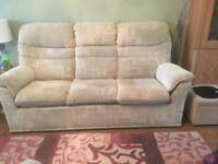 Free Sofa and chair plus foot stool