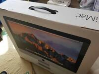 BRAND NEW UNBOXED!! Apple iMac 21.5-inch Desktop (Intel Core i5 2.8 GHz, 8 GB RAM, 1 TB)-Silver-2016