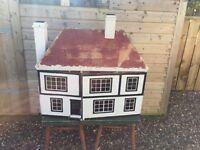 Large Antique Dolls House