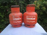 calor gas propane bottles for bbq, heaters, caravans or motor homes