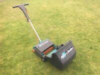 Black and Decker electric lawn scarifier, rake