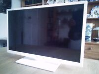 "JVC 24"" LED Smart HD TV. Model number LT-24C656 with built-in DVD Player."