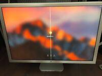 Apple 30 inch Cinema Display with USB/FireWire and adaptor