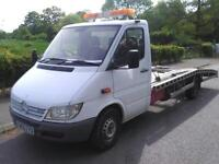 Mercedes sprinter 314 lpg recovery truck 2006 manual