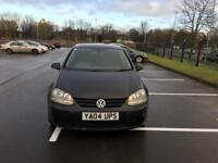 VW GOlf 1.9 diesel automatic DSG gearbox, 12 months mot