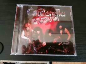 CINDERELLA. ROCKED WIRED AND BLUESED.GREATEST HITS CD