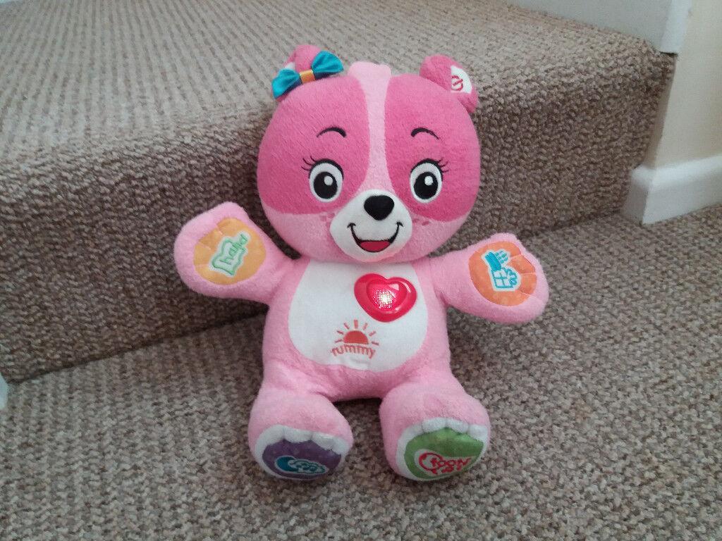 Vtech Cora the smart interactive pink teddy bear