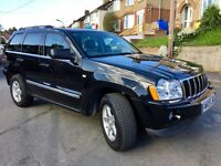 Stunning condition low mileage diesel black Jeep GRAND CHEROKEE