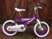 Girls 14 inch bike. Can deliver