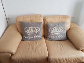 HOUSE CLEARANCE!! leather sofas, king size bed, tabletop oven, solid wood wardrobe