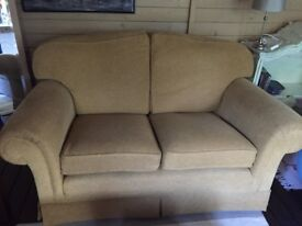 Two x Two Seater Sofas
