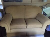 Two x Two Seater Sofas