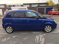 Vauxhall Meriva 1.6 Petrol Manual Family car