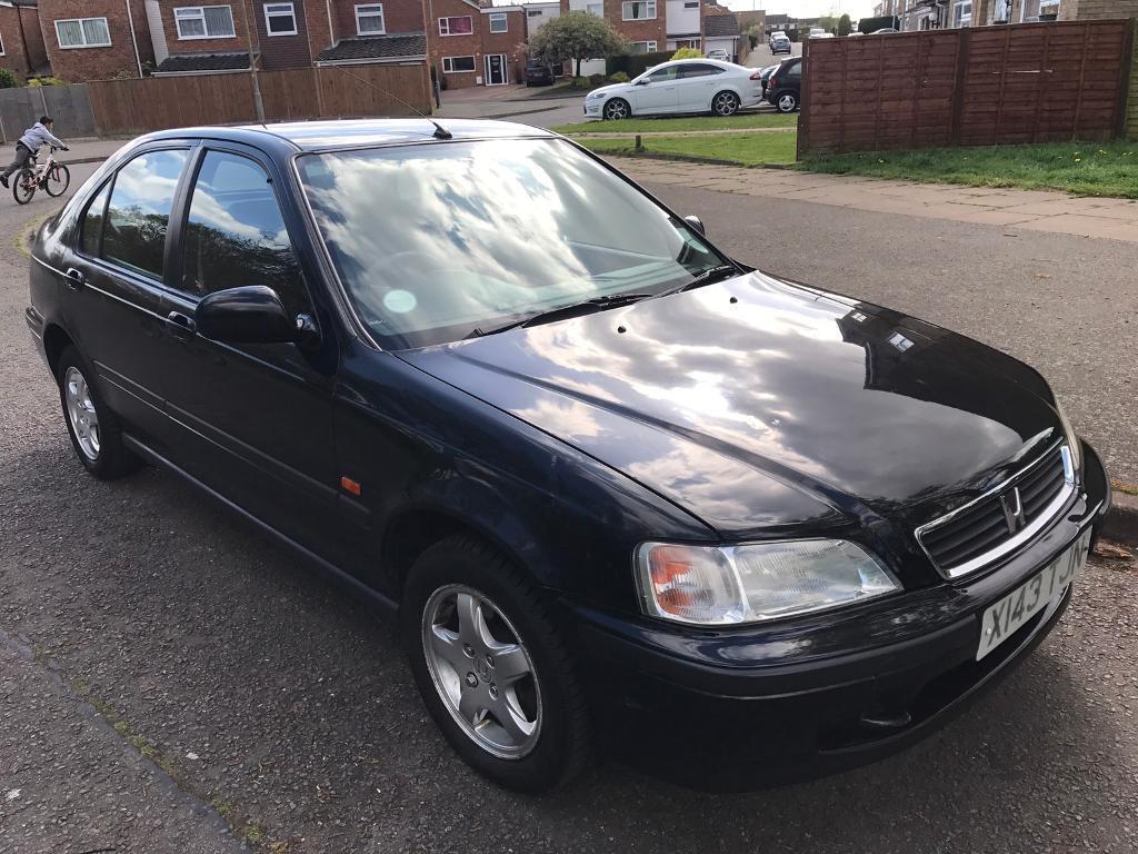 Honda Civic 1.4i sport, x reg 2000, black, manual, 4 doors