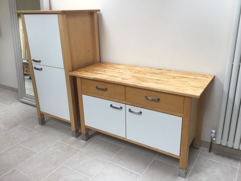 Ikea varde kitchen units free standing in fulham london for Meuble cuisine ikea varde